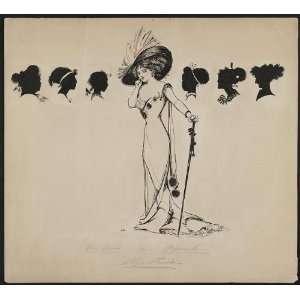 Stage Struck,Jessie Gillespie,artist,1910 30,glamourous