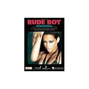 Rude Boy (Piano Vocal, SHEET MUSIC) Rihanna  Books
