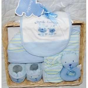 New  *Bunchkin* 8pc Baby Boy Gift Basket Set Baby