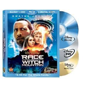 Race to Witch Mountain (Three Disc Edition Blu ray/DVD