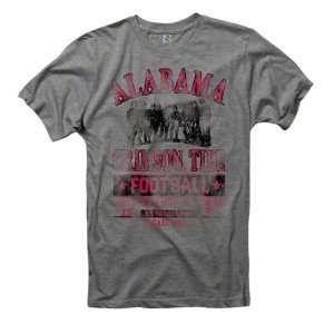 Alabama Crimson Tide Grey Post Season Ring Spun T Shirt