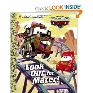 Look Out for Mater (Disney/Pixar Cars) (Little Golden