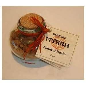 Myrrh Resin Incense 2 oz in glass bottle Health