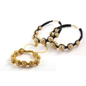 Basketball Wives POParazzi Marcame Earrings & Bracelet