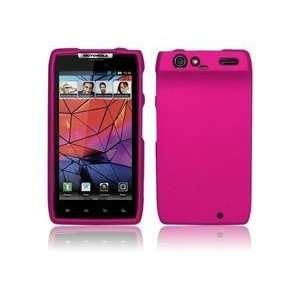 Hot Pink Hard Case Cover for Motorola Droid Razr XT912