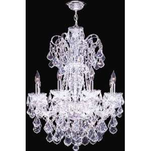 Maria Elena Eight Light Crystal Chandelier by James R. Moder