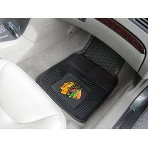 Chicago Blackhawks Heavy Duty Vinyl Car Floor Mats (2 Front)