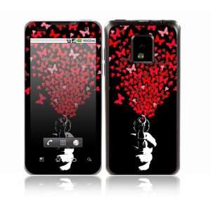 com LG Optimus 2X Decal Skin Sticker   The Love Gun Everything Else
