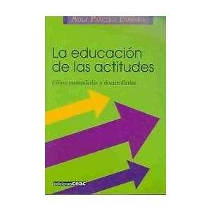 La Educacion De Las Actitudes: Como Estimularlas Y