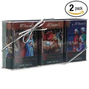 McStevens Nativity Scene Christmas Cocoa Gift Set, 3 Count, 2.5 Ounce