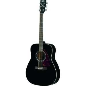 Yamaha F370 Akustikgitarre, schwarz  Musikinstrumente