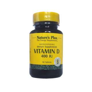 Natures Plus Vitamin D 400iu Water Dispersible Tablets  33% Off Your