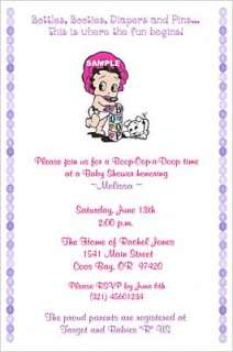Baby Betty Boop Baby Shower Invitations Supplies Favors