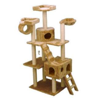 New Huge 73 Tall CAT TREE CONDO Furniture Scratch Post |