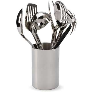 Oneida 7pc Stainless Steel Canister Set Kitchen & Dining