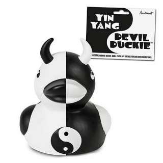 Yin Yang Devil Duckie   Accoutrements   Devil Duckie   Bed and Bath at