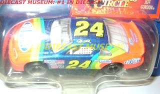 JEFF GORDON #24 DUPONT 1997 STOCK CAR SERIES DIECAST WINNERS CIRCLE