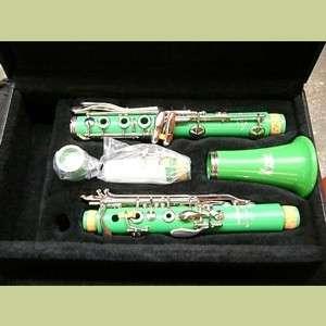 Leblanc Vito Dazzler Green Bb Clarinet Model 7312 New!