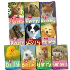 Animal Rescue Collection Tina Nolan 10 Books Set Pack (Holly: The