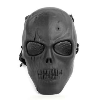 Army Airsoft Protect Full Face Skeleton Skull Mask Game