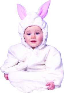 This adorable baby deluxe bunny costume will look irresistible on your