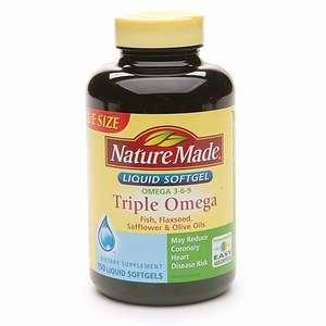 Buy Nature Made Triple Omega, Liquid Softgels & More  drugstore