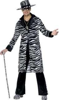 Pimp Daddy Costume   Zebra Print 25993   Ace Fancy Dress