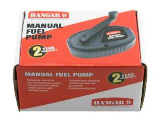 Hangar 9 Manual Fuel Pump [HAN118]  RC Helicopters   A Main Hobbies