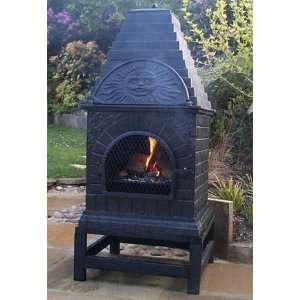 Chiminea Chimenea Outdoor Wood Fire Place Heater Pit Chimnea