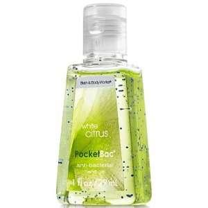 Bath & Body Works White Citrus Anti Bacterial Deep Cleansing Hand Gel