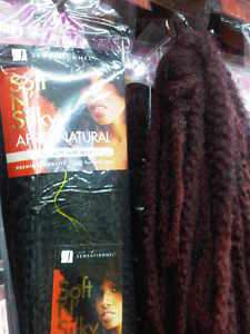 Soft N Silky Afro Kinky Bulk  24 Twists/Braids/Dreads