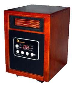 Dr Heater DR968 Infrared Heater 1500 watts Quartz Infrared Tube + PTC