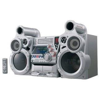 com Customer Reviews JVC MX GT80 GigaTube 3 CD Compact Stereo System