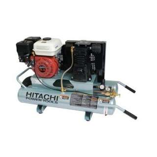 Hitachi 5.5 HP Gas Powered Air Compressor Tools