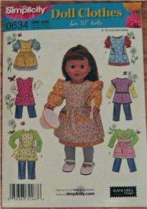 New Pattern 2761 Fit 18 Doll Clothes & American Girl