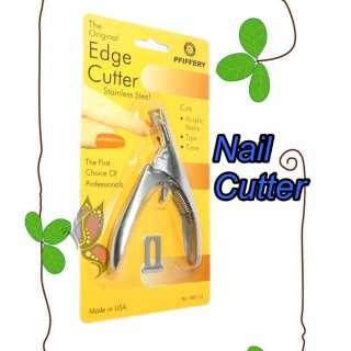 New Pro Sliver Colour Nail Art UV Acrylic False Nail Clipper Edge