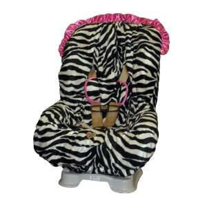 Baby Bella Maya Toddler Car Seat Cover in Zoe Zebra with