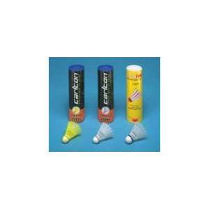 Set of 24   Badminton Shuttlecocks   Carlton Optic Yellow