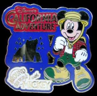 DISNEY PIN   MICKEY MOUSE   CALIFORNIA ADVENTURE   LE