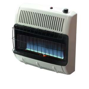 Mr. Heater 30,000 BTU Natural Gas Blue Flame Heater NEW 89301555396