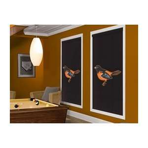 Baltimore Orioles MLB Roller Window Shades up to 102 x 120
