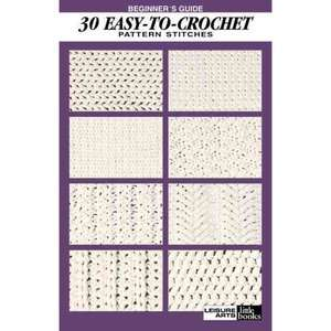 Beginners Guide 30 Easy To Crochet Pattern Stitches