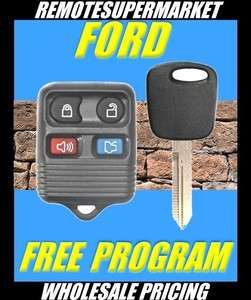 FORD LINCOLN REMOTE KEY KEYLESS ENTRY TRANSMITTER FOB + IGNITION