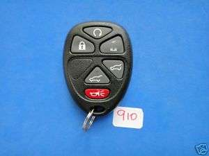 CHEVROLET GM KEYLESS REMOTE TRANSMITTER KEY 15913427