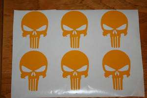 PUNISHER VINYL DECALS GRAPHICS CAR TRUCK BIKE
