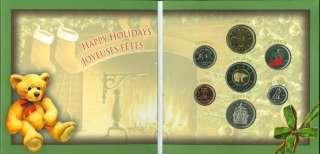05 Christmas Holiday Coin Gift Set Royal Canadian Mint