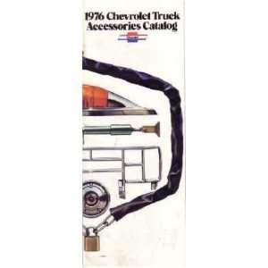 1976 CHEVROLET TRUCK Accessories Sales Brochure Book