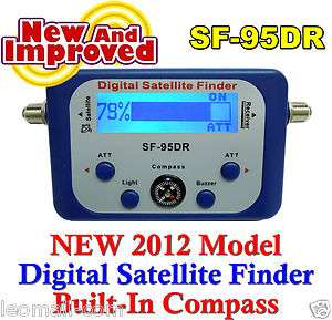 Satellite Signal Meter Finder Locator Kit Dish Install