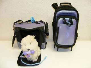 Luggage Best Friend Coconut Dog Carrier Backpack Detaches Suitcase