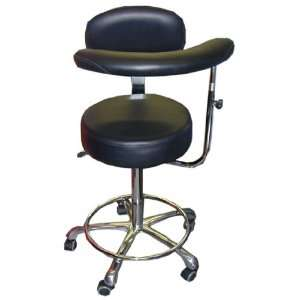 Dental Medical New Assistant Stool Chair Black Office